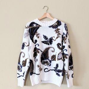 VERO MODA Chunky Knit Pullover Sweater Size Small